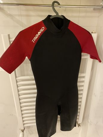 fato Surf ou Bodyboard Tribord 3/2 curto - criança