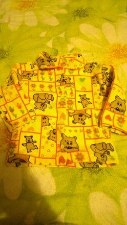 Теплая одежда для малышей.