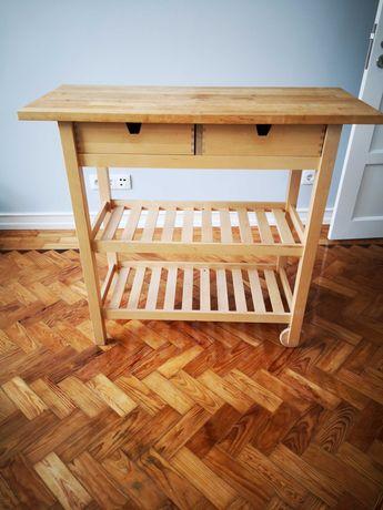 FORHOJA - Ikea - mesa apoio de madeira praticamente nova