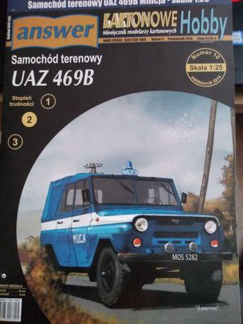 Samochód terenowy UAZ 469B