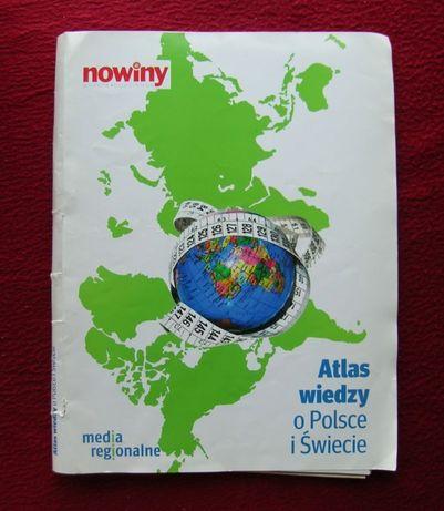 Atlas wiedzy o Polsce i świecie