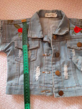Джинсовая куртка 1-2 года