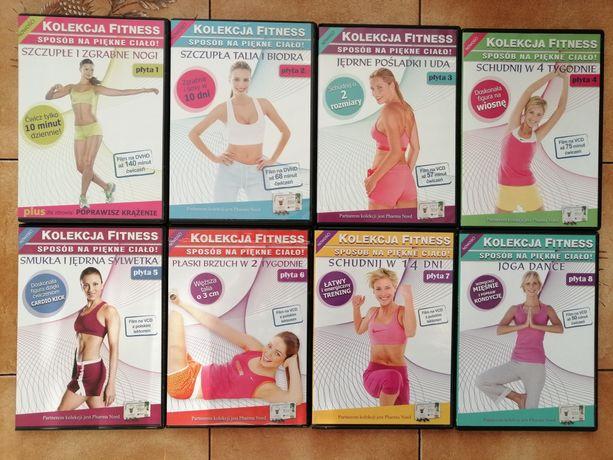 Zestaw Płyty fitness  (joga, ćwiczenia, trening)