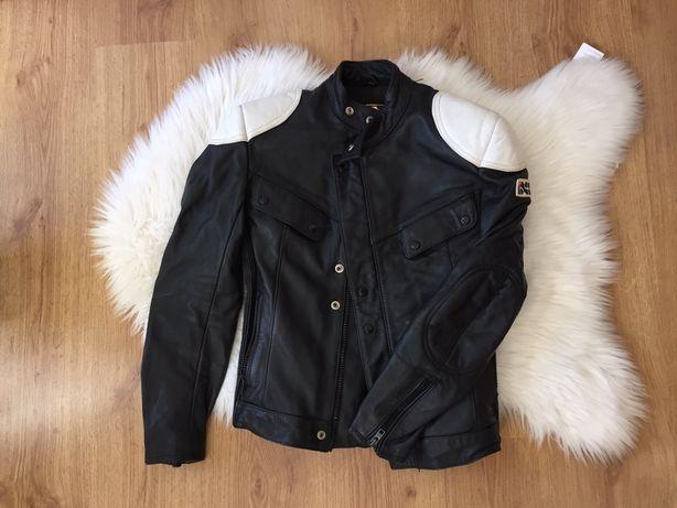 Skórzana kurtka motocyklowa czarna XS damska ixs