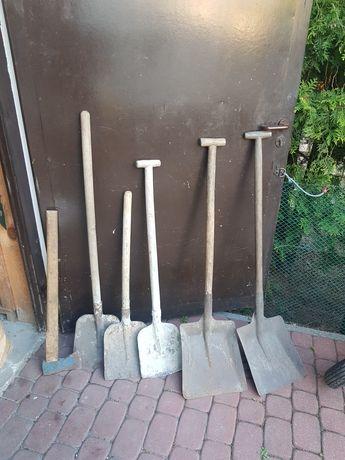 Łopata siekiera ogród budowa szypa