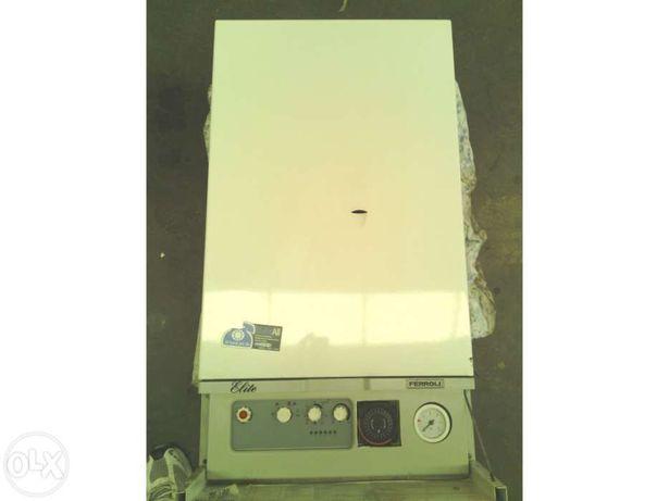 Caldeira ferroli para aquecimento central