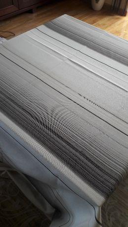 Materiałowy obrus krem-beż 130 x 250 tkanina poliester