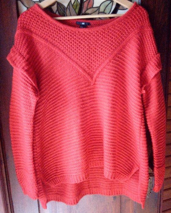 Sweter damski czerwony Szczecin - image 1