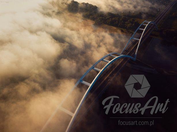 Zdjęcia film pomiary z powietrza z DRONA 4K ZOBACZ!