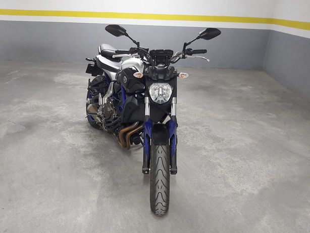 Yamaha MT07 abs de 2016 e 18000km