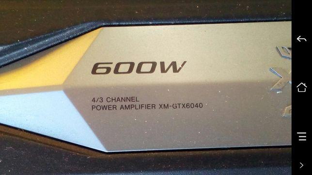 Amplificadores Sony 600w cada