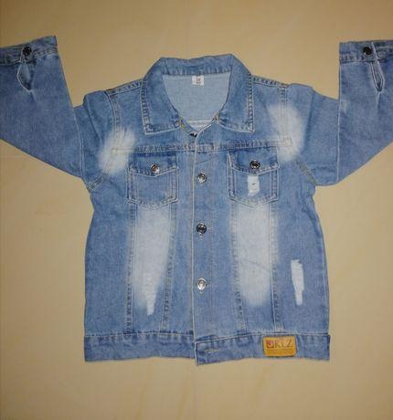 Kurteczka jeans dla chłopca