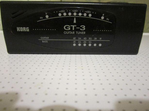 KORG GT-3 Гитарный тюнер