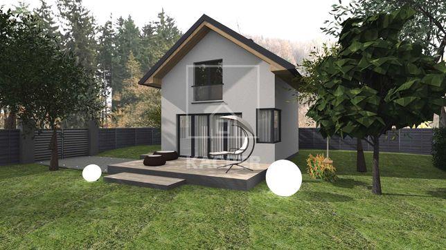 Projekt domu do 35m2