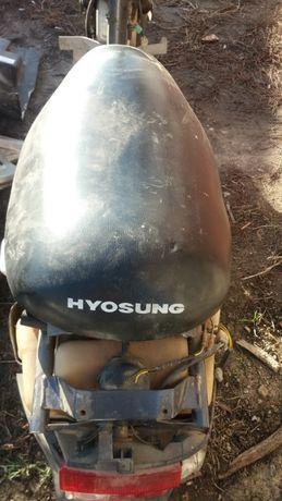Розборка корейского скутера HYOSUNG