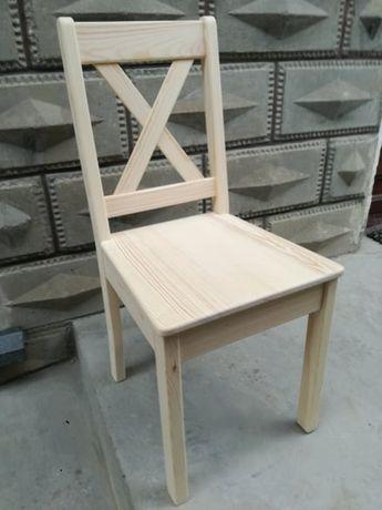 krzesła świerkowe, sosnowe nowe sprzedam