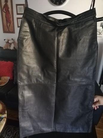 Naturalna spódnica skorzana