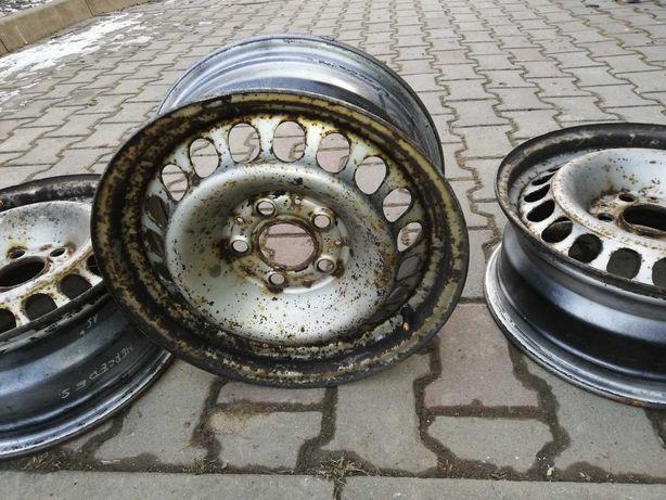 Felgi stalowe 15 Mercedes 5x112