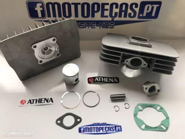 Kit athena sachs 48 cilindro culaça pistão juntas novo p/ motorizadas