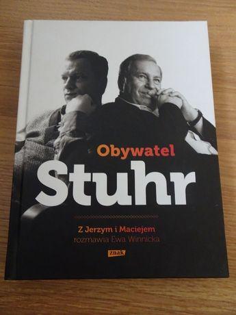 Książka: Obywatel Stuhr. Z Jerzym i Maciejem rozmawia Ewa Winnicka