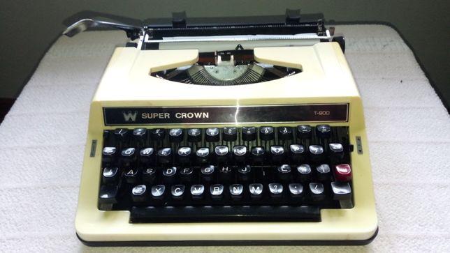 Máquina de Escrever Super Crown