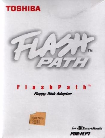 FlashPath SmartMedia Toshiba (дискета+карта)