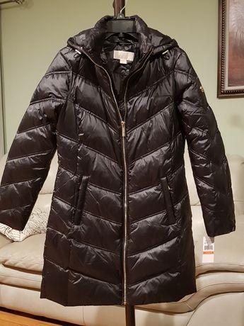 MICHAEL KORS oryginał puchowy płaszcz kurtka S
