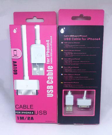 Cabo carregador para 30 Pinos para iPhone 4/4s ; iPad/ iPad 2 ; iPod