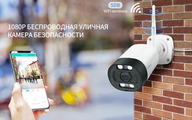 1080P IP WiFi Камера видеонаблюдения