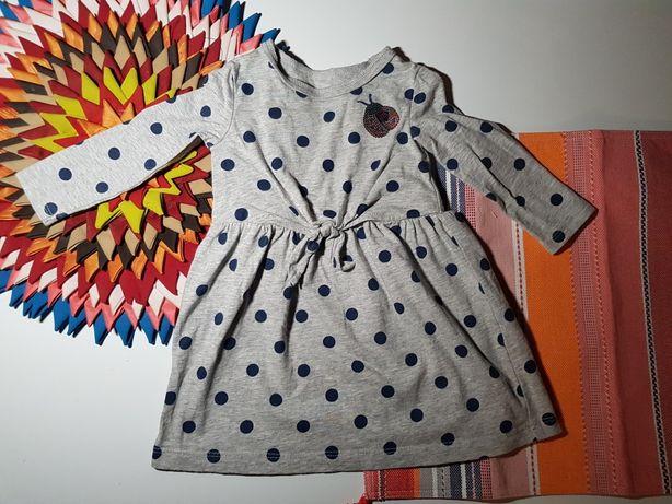 Почти новое платье Carters (6-9m)