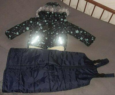 Костюм зима, куртка плюс комбинезон