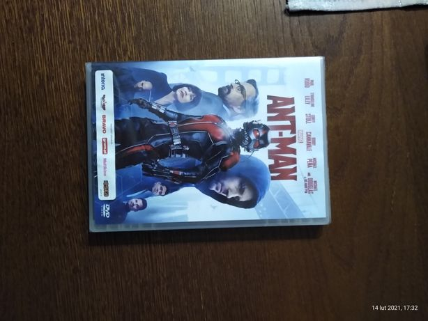 Ant Man film DVD