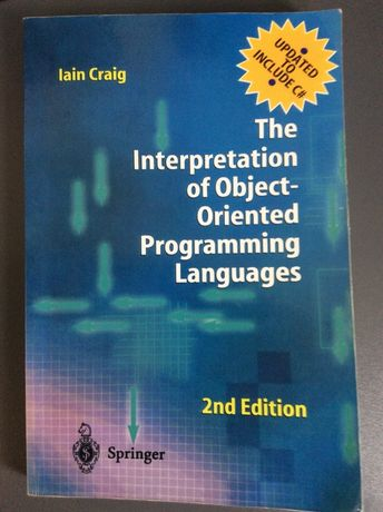 Iain Craig: Interpretation of Object-Oriented Programming Languages