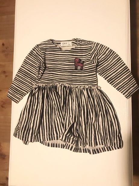 5 10 15 sukienka zebra 86