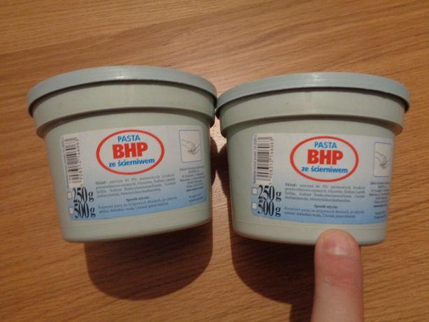 Pasta BHP ze ścierniwem / NOWA / 250 gram / NIE OTWIERANA/do mycia rąk