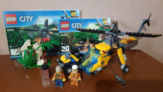 Lego City 60158 Грузовой вертолет исследователей джунглей Лего Сити