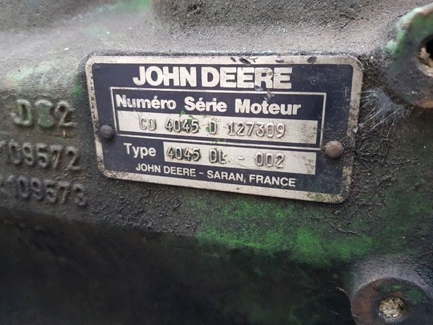Silnik John Derre 4 cylindry 4045 Claas 4045 H arion czesci