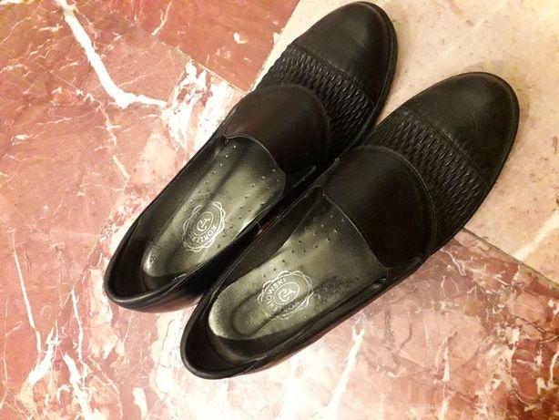 Skórzane buty rozm 40