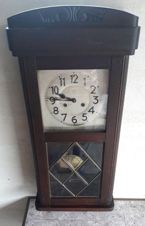 Stary zegar ścienny wiszący Junghans Wurttemberg