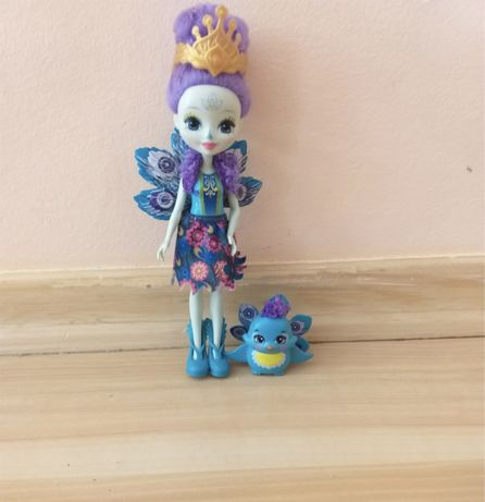 Оригинальная кукла Enchantimals,павлин   - Mattel