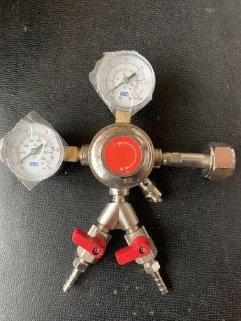 Редуктор углекислотный для пивного балона, пивное оборудование UBC