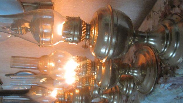 красивая рабочая керосинка керосиновая старина фонарь лампа