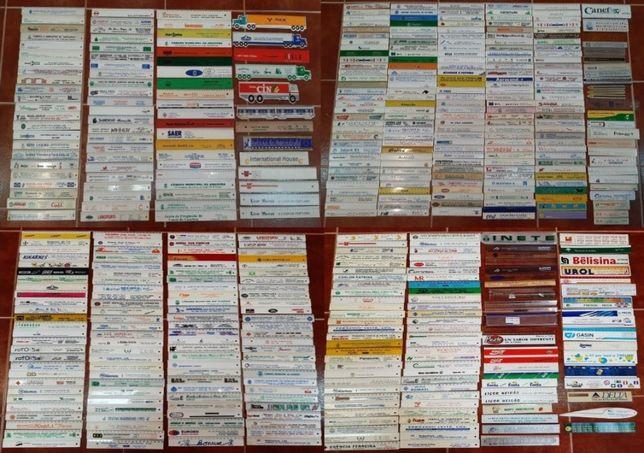 Coleção de réguas lote de 613 réguas