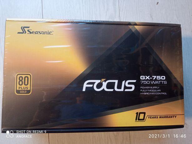 Zasilacz Seasonic Focus GX-750 Wat 80+ Gold