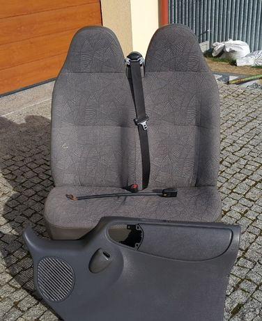 Ford transit siedzenie fotel dwójka 2000< 2006