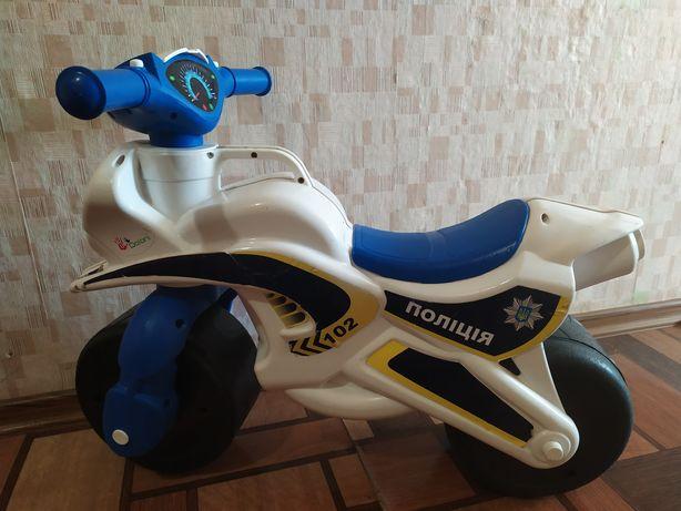 Продам мотоцикл , толокар