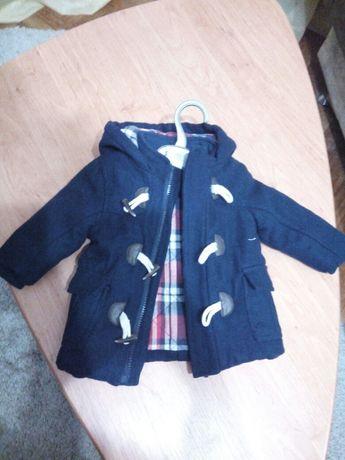 Детское пальто для мальчика 3-6 месяца