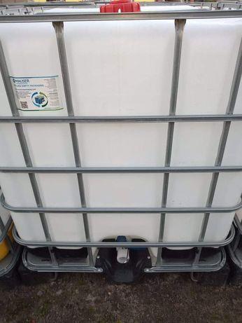 Paletopojemnik 1000l mauzer mauser zbiornik beczka na wodę