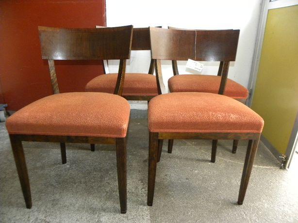 4 krzesła brzozowe