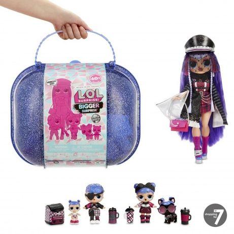 LOL Bigger Winter Disco Surprise Walizka z lalką MGA